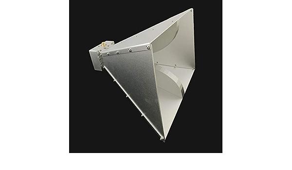 Dual Ridge Antena de bocina de Banda Ancha de 0,8 GHz a 6 GHz ...