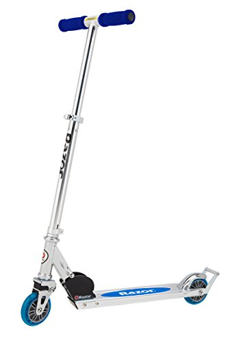 Razor A2 Kick Scooter (Blue) (Renewed)