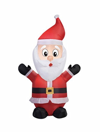Holiday Living 4-ft Santa Christmas Inflatable Item # 783223 Model # 39565