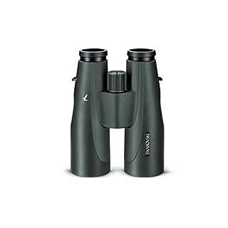 SWAROVSKI Optik 15×56 SLC Series Water Proof Roof Prism Binocular with 4.5 Degree Angle of View, Green