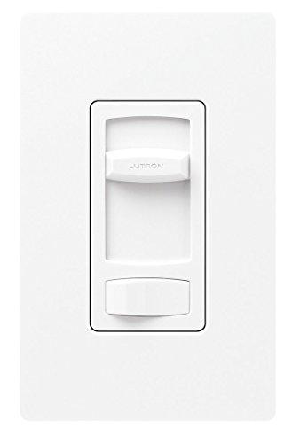 Lutron CTFSQ-F-WH Fan Speed Control, Skylark Contour 1.5A 3-Way - White (Way Fan Ceiling Switch Three)