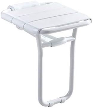 ALFYMX Duschklappsitz, bequemer Duschablauf für das Bad, Weiß