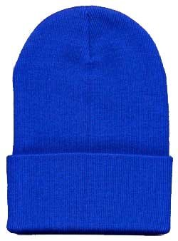 Amazon.com  Long Knit Beanie Ski Cap Hat In Royal Blue  Clothing 3b357a5a5f4