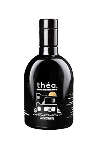 (théa Premium Greek Extra Virgin Olive Oil (500ml) I 100% Koroneiki Variety I First Cold Pressed I Low Acidity I High in Antioxidants I Unblended I Family Owned I Handpicked & Harvested in Kalamata )
