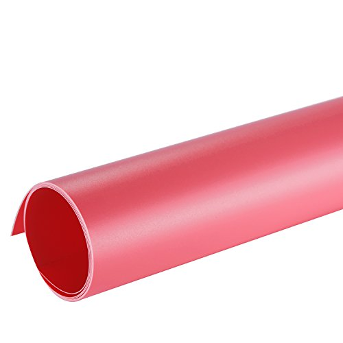 Neewer® 16x30(40x75cm) Seamless PVC Backdrop Background Paper for Photo Video Photography Studio - Pink