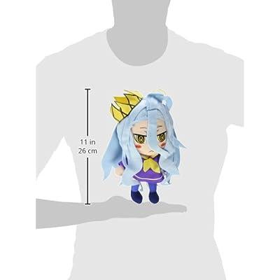 GE Animation GE-52758 No Game No Life Shiro Stuffed Plush: Toys & Games