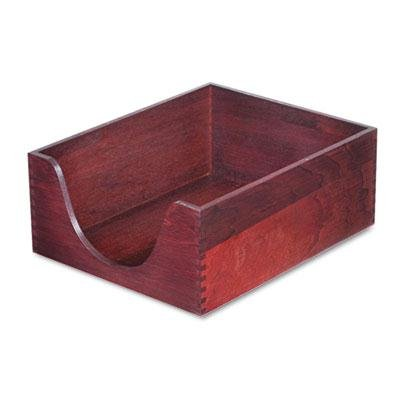 Carver Hardwood Stackable Desk Trays