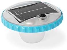 Intex 28695 - Luz LED flotante de carga solar para piscinas ...
