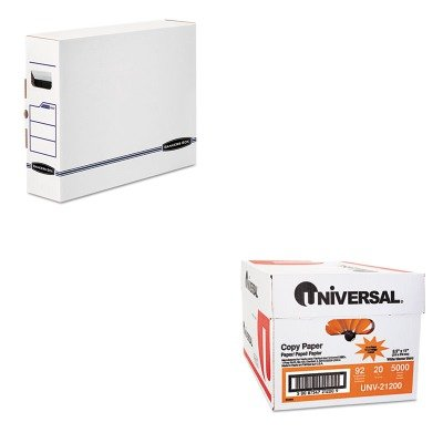 Bankers Box X-ray (KITFEL00650UNV21200 - Value Kit - Bankers Box X-Ray Storage Box (FEL00650) and Universal Copy Paper (UNV21200))