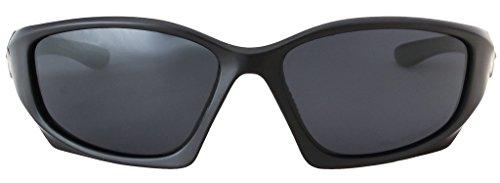 Fumée Mat Hornz de Pro Premium Polarized soleil Noire Séries Cadre Lunettes de de Noir HZ Lentille T8Rw6qPg