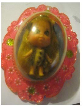 Liddle Kiddle Vintage Original 1968 Louise Locket Doll in Pink Locket
