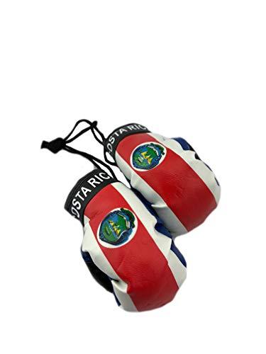 Red Hat Ent Hanging Car Mirror Mini Boxing Gloves (Costa Rica)