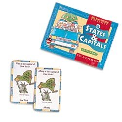 Learning Resources   Fast Track Learning Us States And Capitals Card Game