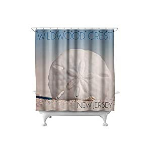 311T7RyP61L._SS300_ Beach Shower Curtains & Nautical Shower Curtains