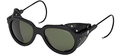 Sunglasses MONCLER ALTITUDE ML 3 MONCLER ALTITUDE ML 0003 MONCLER ALTITUDE 02R matte black / green - Moncler Black