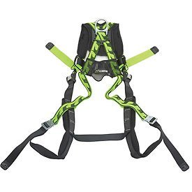 Miller Titan by Honeywell AC-QC/UGN AirCore Full Body Harness, Large/X-Large, Green