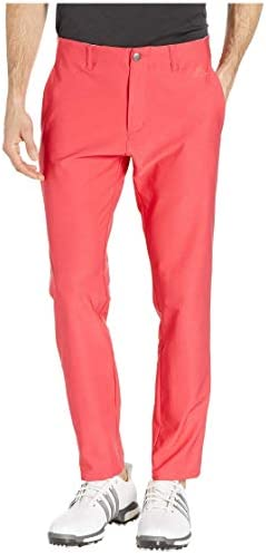 [adidas(アディダス)] メンズパンツ・長ズボン・ジャージ下 Ultimate 3-Stripes Tapered Pants Active Pink 35 (W: 89cm) 32 [並行輸入品]