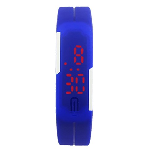 Clearance!Ultra Thin Wrist Watch,Canserin Sports Silicone Digital LED Watch