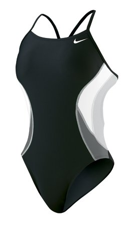 Nike Team Color Block Cut Out Tank - Competitive Swimsuit - TESS0045