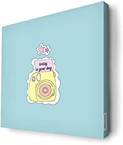 Cartoon camera Wall Canvas by Decalac,30x 30cm - 19083