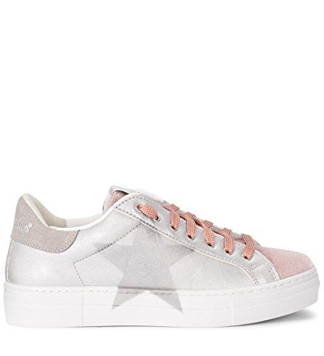 Con Pelle In Rubens Nira Sneaker Argento Martini Stella xwpY4Yq