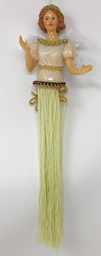 Popular Imports Polyresin Tassel Doll with Fringe Ornament