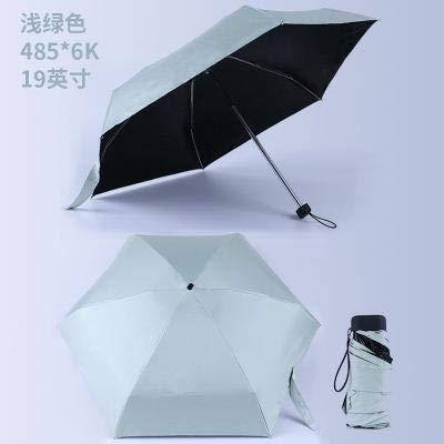 Ynebwcie Hombre Mini Bolsillo Parasol Moda Plegable Lluvia ...