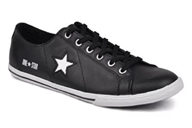 converse cuir one star
