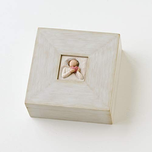 Willow Tree From the Heart, sculpted hand-painted memory box