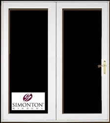 French Patio Doors By SIMONTON   Single Operating Door   6u0027 Wide   Customize  Your
