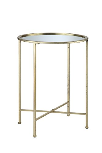 convenience-concepts-coast-collection-julia-mirrored-end-table-gold