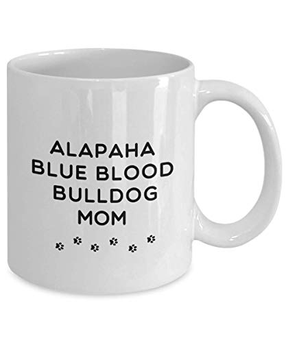 Best Alapaha Blue Blood Bulldog Dog Mom Cup Unique Ceramic Coffee Mug Gifts for Women 2