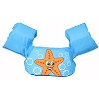 KAKAF Simvingar flytväst småbarn flythjälp 10–25 kg simbälte flytväst flyttränare med säkerhetslås för barn och småbarn…