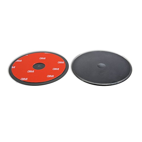 Cup Suction 660 (Navitech 80mm Circular Adhesive Universal Dash Disc For Use With Windscreen Suction Cups For the Garmin nüvi 660)