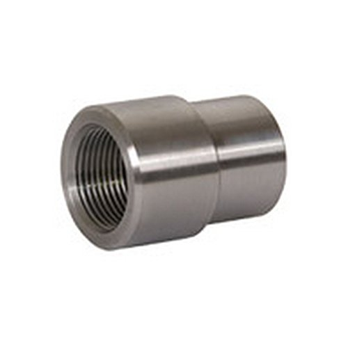 TRAIL-GEAR Weld In Threaded Tube Adapter Bung, 1.25-12 Right Hand Thread