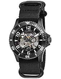 Objet D Art Automatic Black Dial Men's Watch 27593