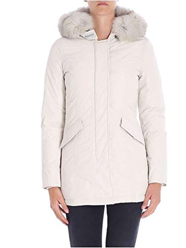 Bianco Wwcps2635cf408254 Outerwear Woolrich Poliestere Donna Giacca UqpwXv6