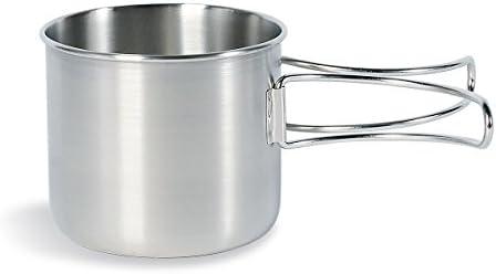 Tatonka Handle Mug – Taza de acero inoxidable con mango plegable