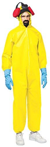 BESTPR1CE Mens Halloween Costume- Breaking Bad Toxic Suit Adult Costume ()