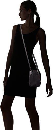 Bogner Aki - Bolso de hombro Mujer Schwarz (Carbon)
