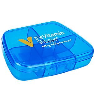ocket Pack- Blue Pill Case 1 Case Blue (Vitamin Pocket Pack)