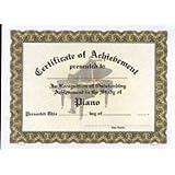 amazon com piano achievement certificate pack of ten