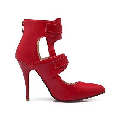Heels pelle zehe Stiletto donne Donna High Pumps High punta Rot Heels cirior tacchi in q6E1tw