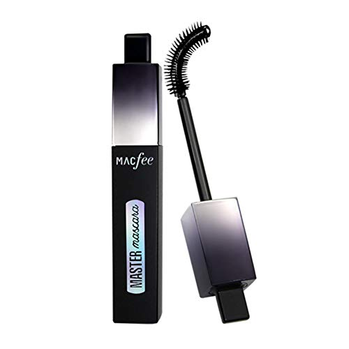 Long Curling Mascara with Curved Brush Waterproof Long Lasting Eye Lashes Makeup by ROMANTIC (Super Lash Mascara Curved Brush)