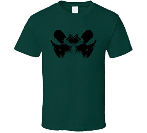 Power Sander Construction Builder Contractor Reno Gift Inkblot T Shirt L Forest Green