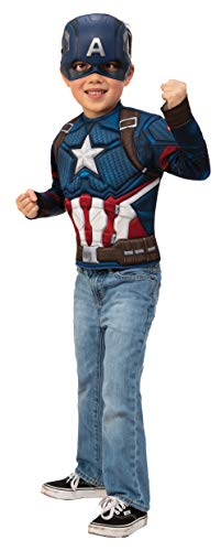 Imagine by Rubie's Child's Marvel Avengers Endgame Captain America Dress Up Costume]()