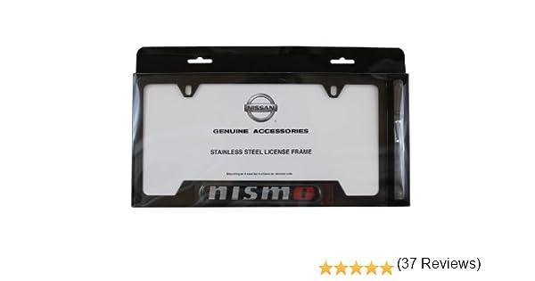 Genuine Nissan Accessories 999MB-AV000BK Black License Plate Frame
