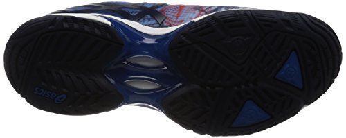 Asics Mens Gel-solution Speed 3 Le Paris, Imperial / Indigo Blue / Vermilion Imperial / Indigo Blue / Vermilion