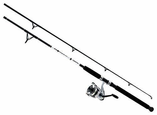 Daiwa DWB50-B/F1102M D-Wave Combo 5000 Reel 1BB Fiberglass Rod (2 Piece), Medium/11' (Daiwa D Wave compare prices)