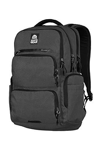 Granite Gear Two Harbors Backpack, Deep Grey/Black,